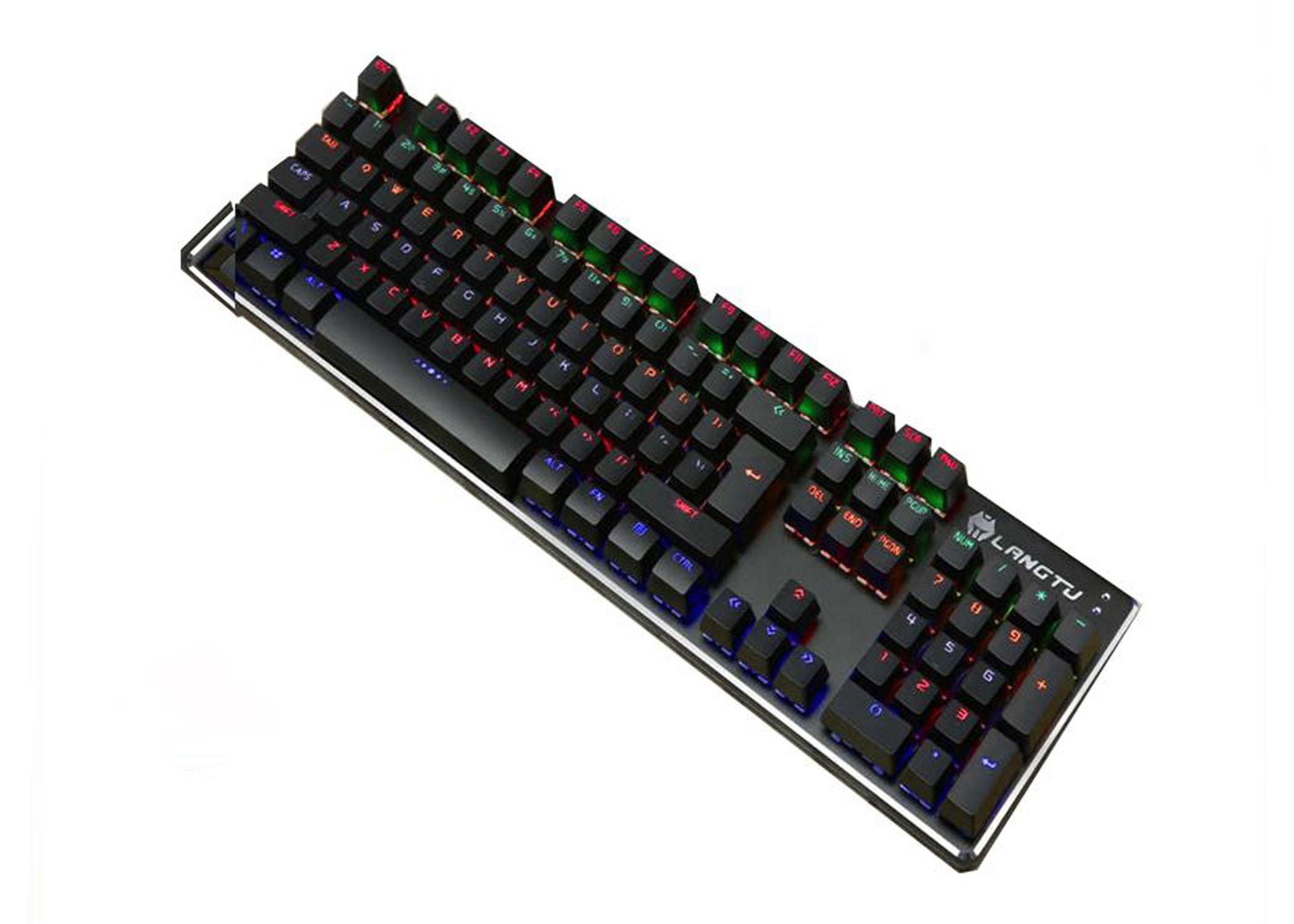 BÀN PHÍM CƠ LANGTU G100 LED RGB GAMING